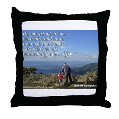 'What you do' Throw Pillow