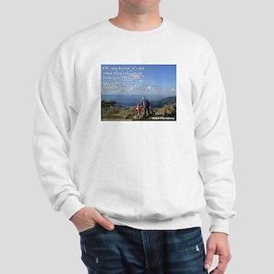'What you do' Sweatshirt