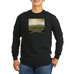 'Giving' Long Sleeve Dark T-Shirt