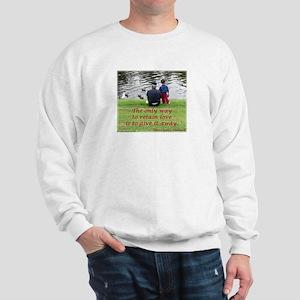 'Give Love' Sweatshirt