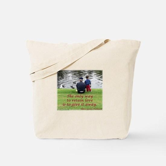 'Give Love' Tote Bag