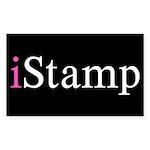 iStamp Sticker (Rectangle 50 pk)