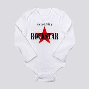 My Daddy is a Rock Star Infant Creeper Body Suit
