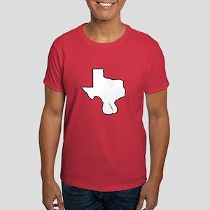 Texas Balls Dark T-Shirt
