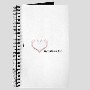 I heart Keeshonden Journal