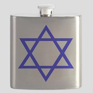 Star of David II Flask