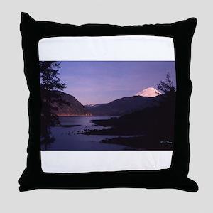 Mt. St. Helens, Washington Throw Pillow