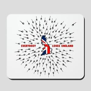 Everybody loves london Mousepad