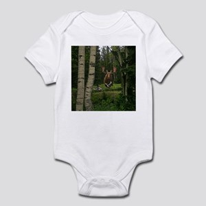 Moose at water hole Infant Bodysuit