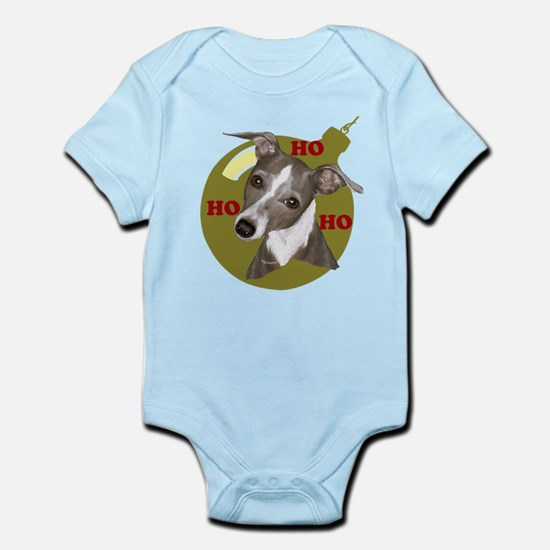 Holiday Min Pin Infant Bodysuit