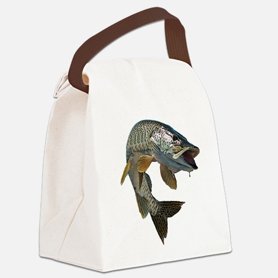 musky 4 Canvas Lunch Bag