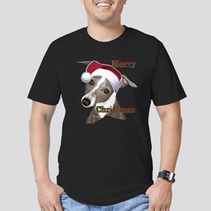 greyhound Italian greyhound Men's Fitted T-Shirt (