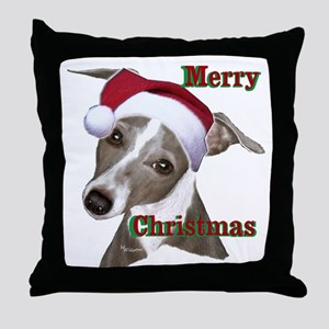greyhound Italian greyhound Throw Pillow