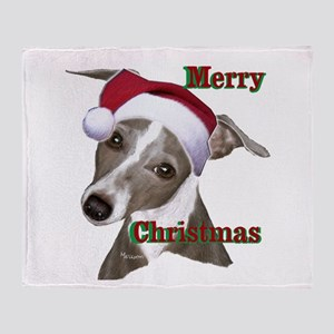 greyhound Italian greyhound Throw Blanket