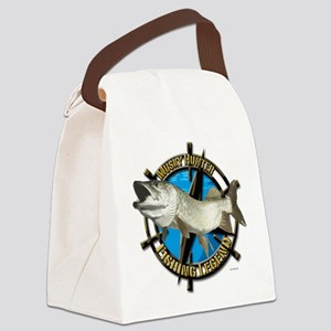 Musky Legend Canvas Lunch Bag