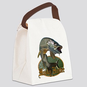 Musky Hunter 9 Canvas Lunch Bag