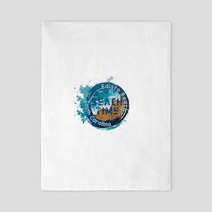 South Carolina - Edisto Beach Twin Duvet Cover