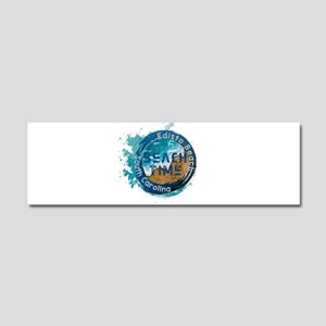 South Carolina - Edisto Beach Car Magnet 10 x 3