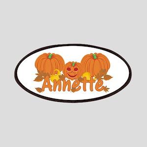 Halloween Pumpkin Annette Patches