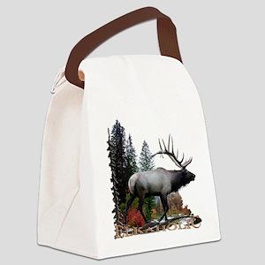 Elkaholic Canvas Lunch Bag