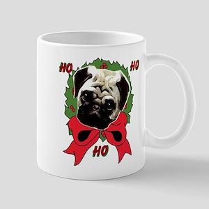 Christmas pug holiday Mug