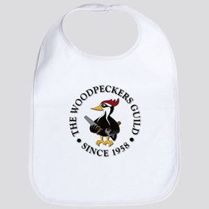 Woodpeckers Logo Bib
