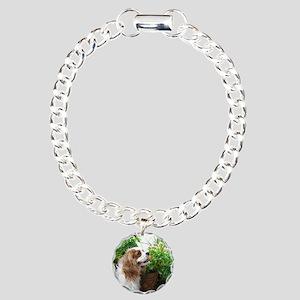 Dexter Flowers Charm Bracelet, One Charm