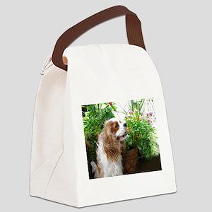 Dexter Flowers Canvas Lunch Bag