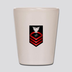Navy Chief Electronics Technician Shot Glass