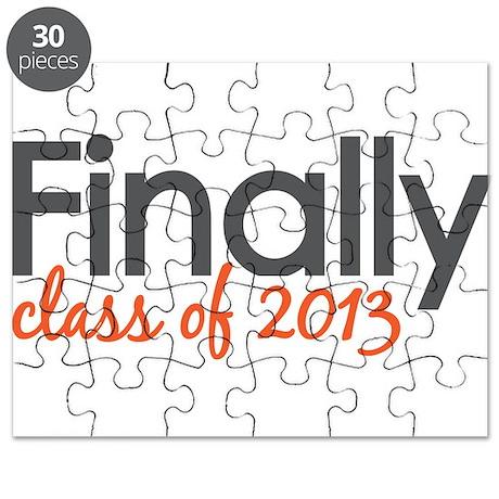 Finally Class of 2013 Grad Puzzle