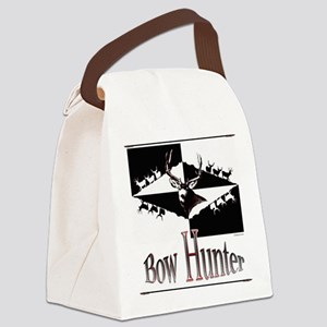 Bow hunter Canvas Lunch Bag