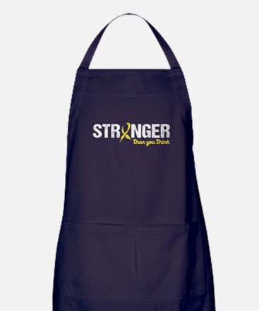 Stronger Than You Think Apron (dark)