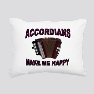 ACCORDIANS Rectangular Canvas Pillow