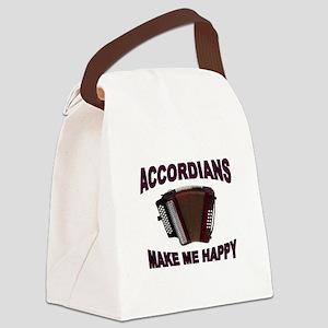 ACCORDIANS Canvas Lunch Bag