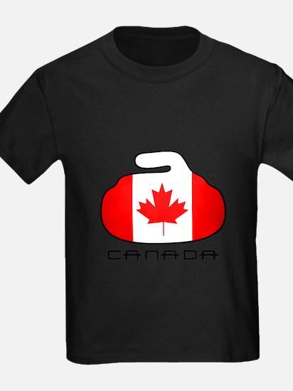 Cute Canada curling T