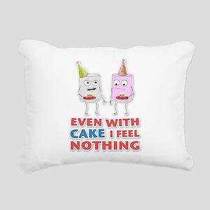 Cake Rectangular Canvas Pillow