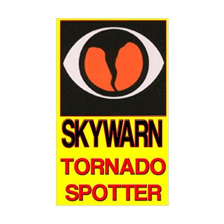 Skywarn Tornado Spotter Sticker