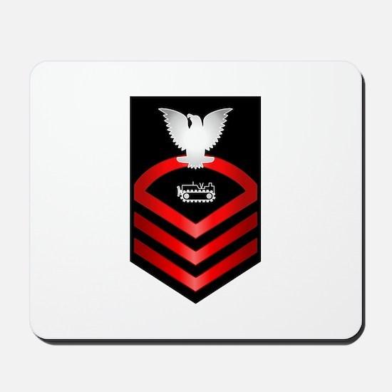 Navy Chief Equipment Operator Mousepad
