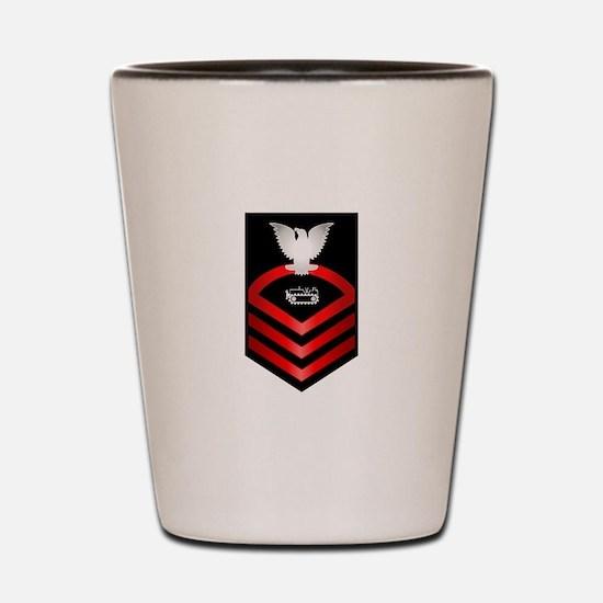 Navy Chief Equipment Operator Shot Glass