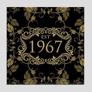 Established 1967 Tile Coaster
