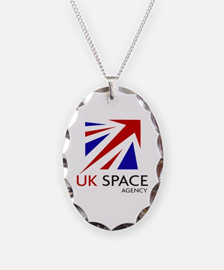 United Kingdom Space Agency Necklace