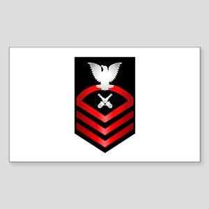 Navy Chief Gunner's Mate Sticker (Rectangle)