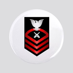 "Navy Chief Gunner's Mate 3.5"" Button"