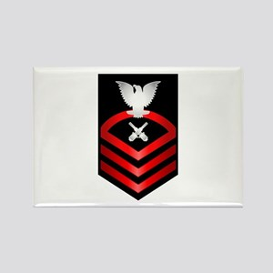 Navy Chief Gunner's Mate Rectangle Magnet