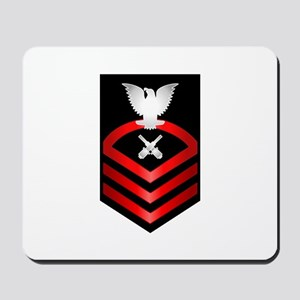 Navy Chief Gunner's Mate Mousepad