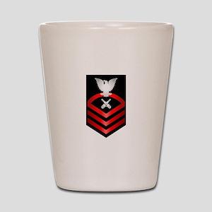 Navy Chief Gunner's Mate Shot Glass