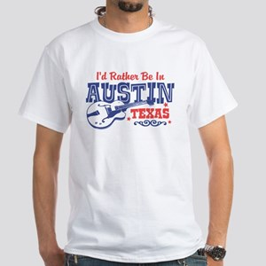 Austin Texas White T-Shirt