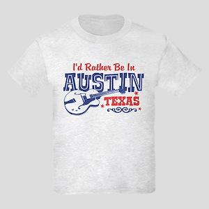 Austin Texas Kids Light T-Shirt