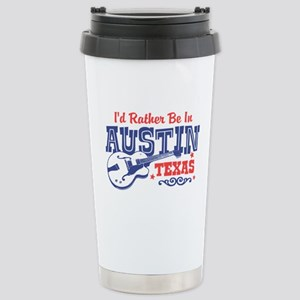 Austin Texas Stainless Steel Travel Mug