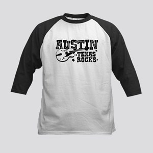 Austin Texas Rocks Kids Baseball Jersey